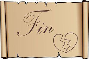 Ilustración de Frases para terminar una relación