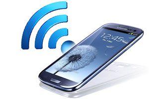 Ilustración de Cómo Compartir Internet en un Samsung Galaxy S3