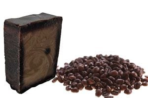 Ilustración de Cómo hacer Jabón de Café para la Celulitis