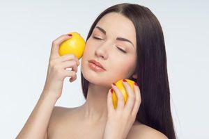 Ilustración de Alimentos para tener una piel perfecta