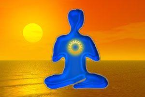 Ilustración de Meditación para el alma