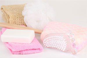 Jabón de coco y avena para la celulitis. Jabón de café y almendras para prevenir la celulitis.