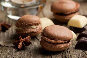 Ilustración de Cómo hacer macarons de chocolate