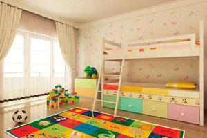 Ilustración de Cómo decorar un cuarto de niño