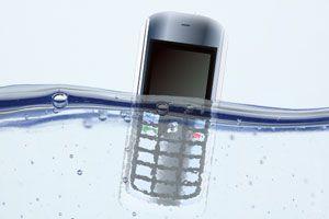 Ilustración de Cómo recuperar dispositivos mojados