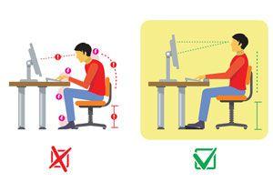 Ilustración de La mejor postura para cuidar tu cuerpo