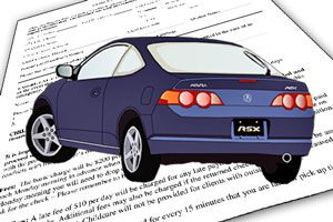 Ilustración de Cómo elegir un seguro de coche