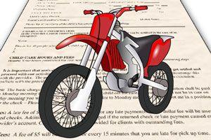 Ilustración de C&oacutemo elegir el seguro de una moto
