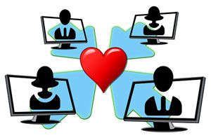 Ilustración de Cómo elegir una página para encontrar pareja