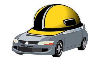 Ilustración de Diferentes coberturas de seguros para coches
