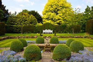 Ilustración de Cómo diseñar un jardín inglés