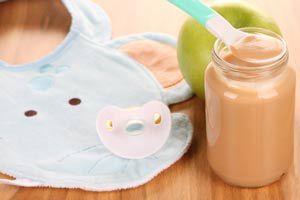 Ilustración de Alimentos para bebés