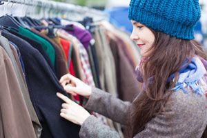Ilustración de Cómo vender tu ropa usada