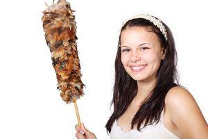 Ilustración de Cómo limpiar la casa para evitar alergias