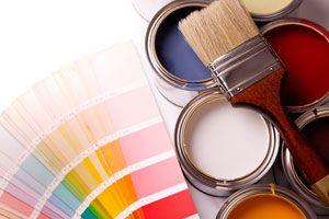 Ilustración de Tipos de pinturas especiales para viviendas