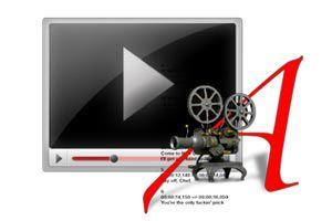 Ilustración de Cómo insertar los subtítulos en una película