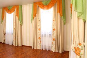 Ilustración de Cómo hacer cortinas decoradas con papel tissue