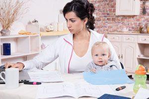 Ilustración de 3 tips para conciliar el trabajo y la familia