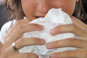 Ilustración de Cómo calmar la ansiedad de comer