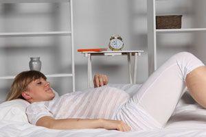 Ilustración de Yoga para embarazadas