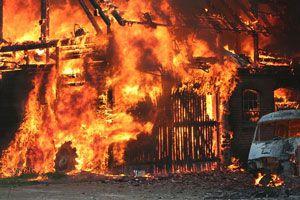 Ilustración de ¿Qu&eacute hacer en caso de incendio?