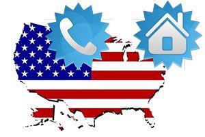 Ilustración de Cómo obtener un domicilio y teléfono en USA