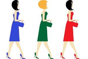 Ilustración de Cómo elegir el vestido de noche