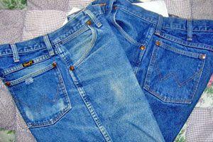Ilustración de Cómo estirar Pantalones de Jean