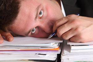 Ilustración de La diferencia entre estar ocupado y ser productivo