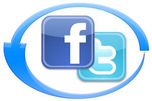 Ilustración de Cómo sincronizar Facebook y Twitter