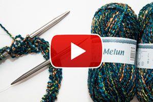 Ilustración de Cómo hacer el punto cadena para tejer a crochet - Video