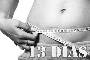 Ilustración de Dieta de los 13 días