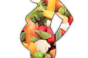 Ilustración de Alimentos que ayudan en el embarazo