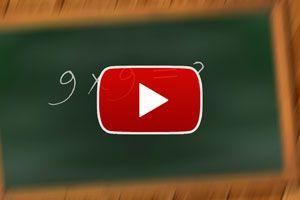 Ilustración de Método para aprender la tabla del 9 - Video