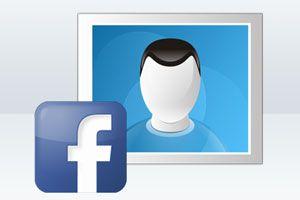 Ilustración de Cómo Encontrar a una Persona en Facebook con su Foto