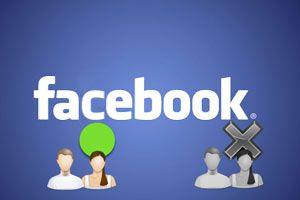Ilustración de Cómo estar conectado sólo para algunos amigos en Facebook