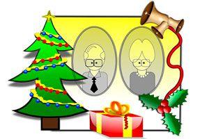 Ilustración de Qué regalar a tus suegros en Navidad