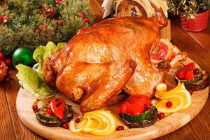 Ilustración de 3 recetas de pavo para la Navidad