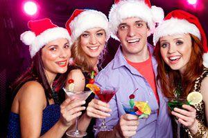 Ilustración de 5 cócteles para brindar en Año Nuevo