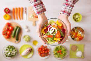 Ilustración de Recetas vegetarianas para Navidad