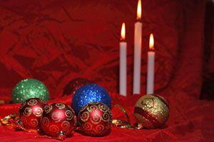 Ideas para decorar con velas en Navidad