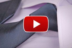 Ilustración de Cómo hacer el nudo de corbata simple - Video