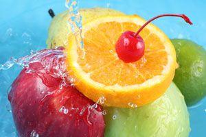 Ilustración de Alimentos Para Hidratar la Piel