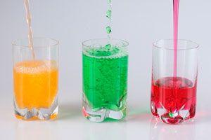 Ilustración de 5 bebidas ideales para el verano
