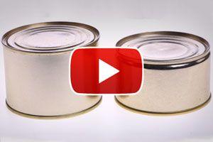 Ilustración de Cómo abrir una lata sin abrelatas - Video