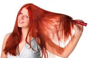 Ilustración de Cómo cardar el cabello