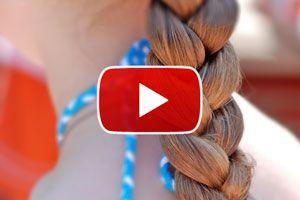 Ilustración de Cómo hacer una trenza - Video