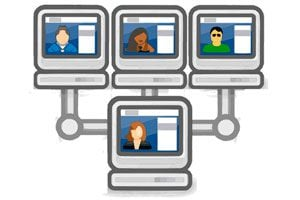 Ilustración de 5 sitios para conocer gente