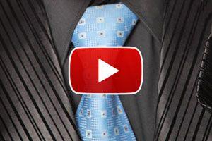 Ilustración de Cómo hacer el nudo de corbata doble - Video