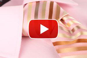 Cómo hacer el nudo de corbata Windsor - Video
